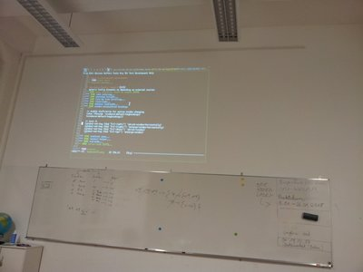 Emacs-Session am Beamer